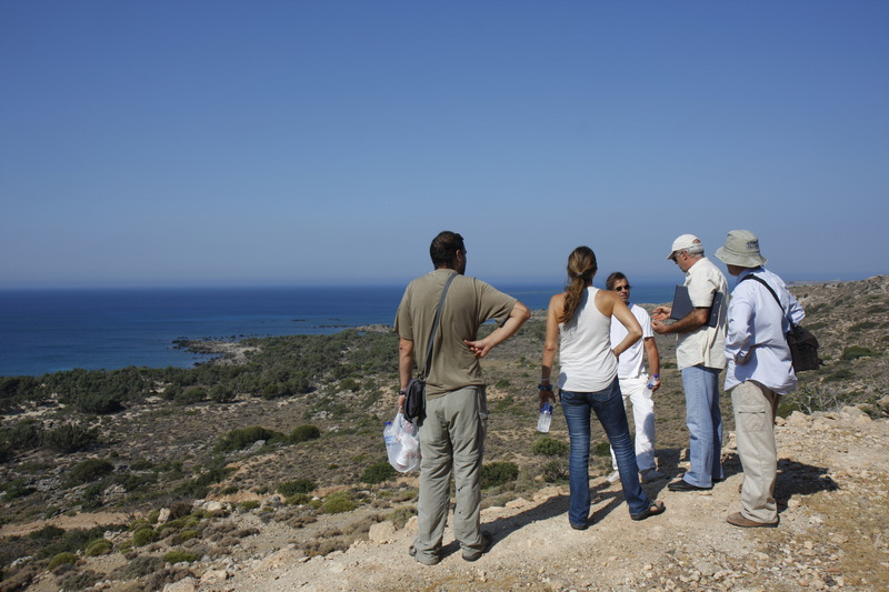 On site discussion with the Forest Directorate of Chania<br>Kedrodasos July 2010