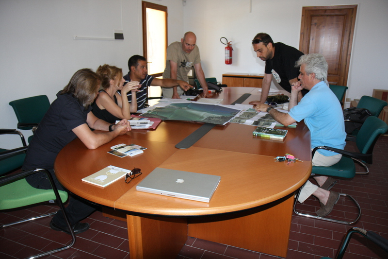 Joint meeting, PROVIDUNE-JUNICOAST projects, Cagliari June 2012