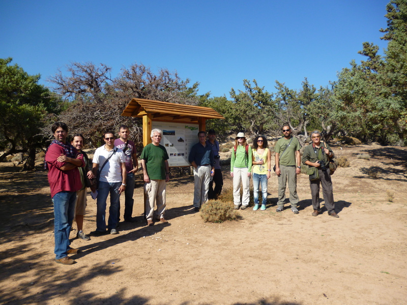 Field trip with scientific committee in Kedrodasos<br>26 October 2012