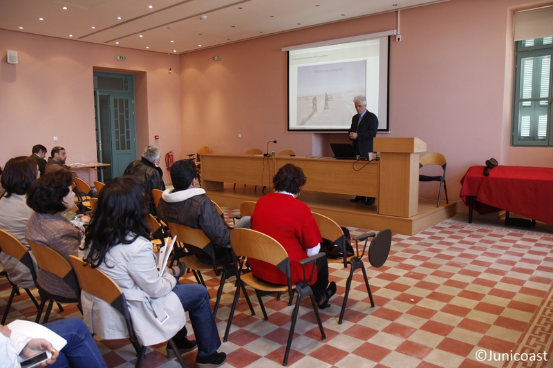 Training workshop, 24th of April 2013, Naxos island