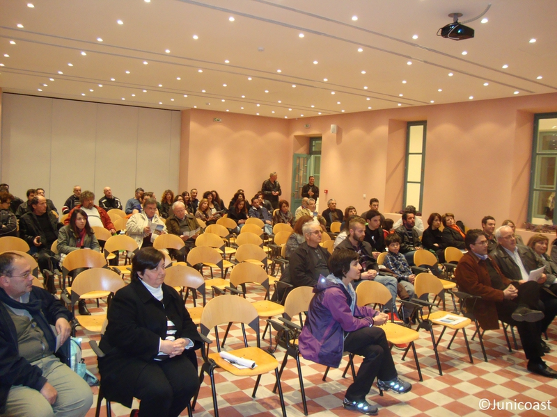 Educational Workshop, 3rd of March 2012, Naxos island