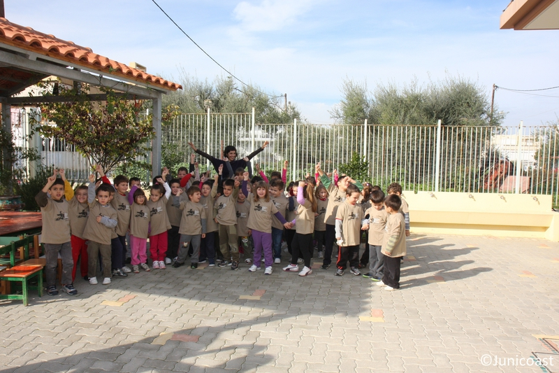 School visit, 28th of November 2012, Mournies-Chania