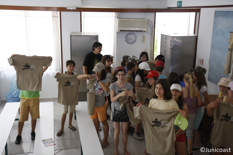 Educational campaign at a Summer Camp, 24th of June 2011, Akrotiri-Chania