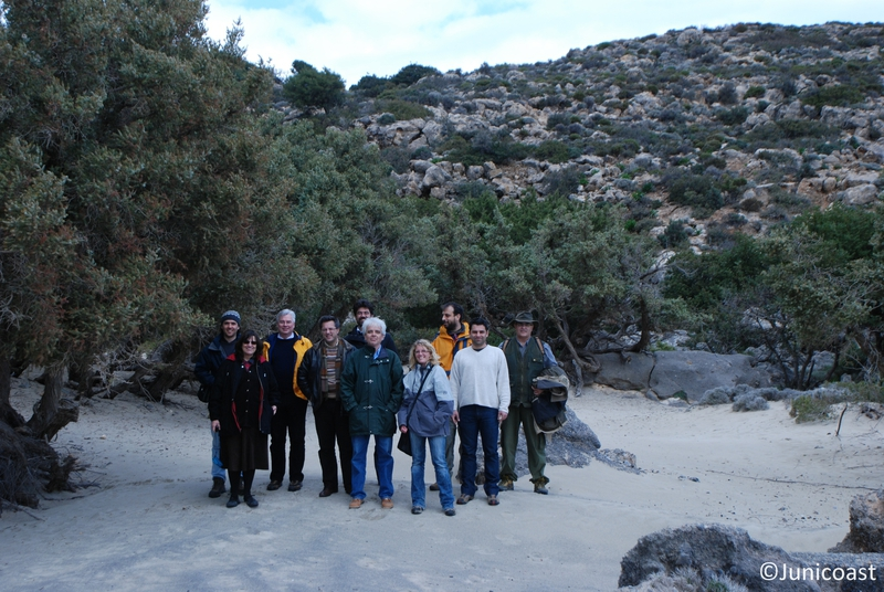 Field trip with the Scientific Committee, Kedrodasos, 27th of February 2009
