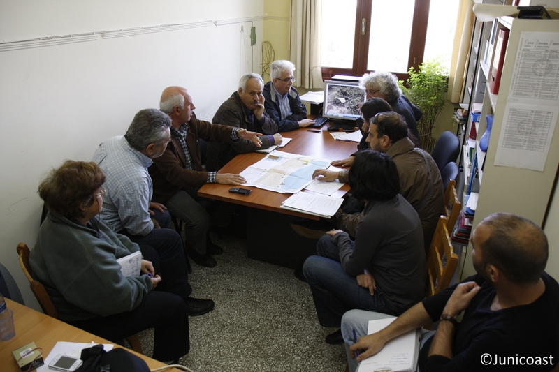 3nd Stakeholder committee meeting, Forest Directorate of Chania, 29th of March 2013